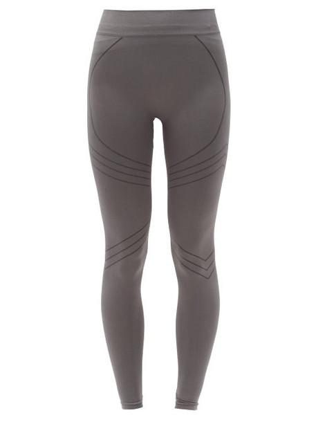 PRISM² Prism² - Nurturing High-rise Stretch-jersey Leggings - Womens - Dark Grey