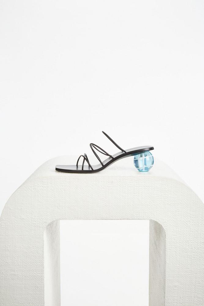 Cult Gaia Cassie Sandal - Black (PREORDER)                                                                                               $398.00