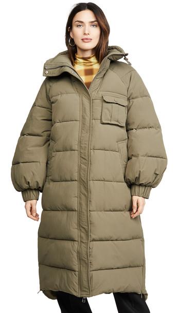 GANNI Heavy Tech Puff Jacket