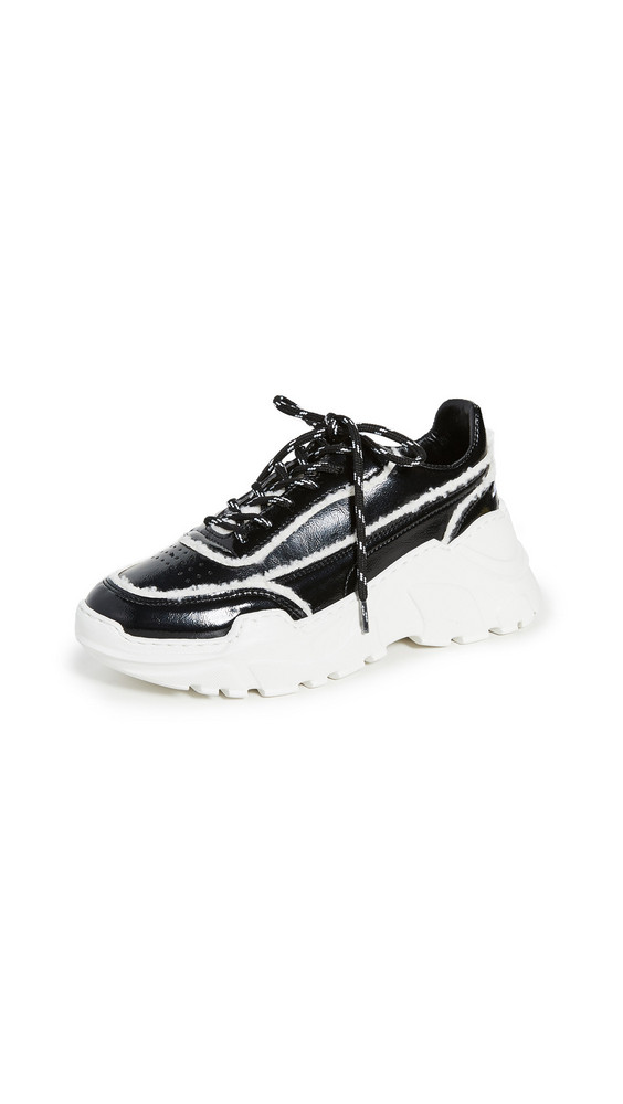 Joshua Sanders Zenith Classic Donna Sneakers in black / white