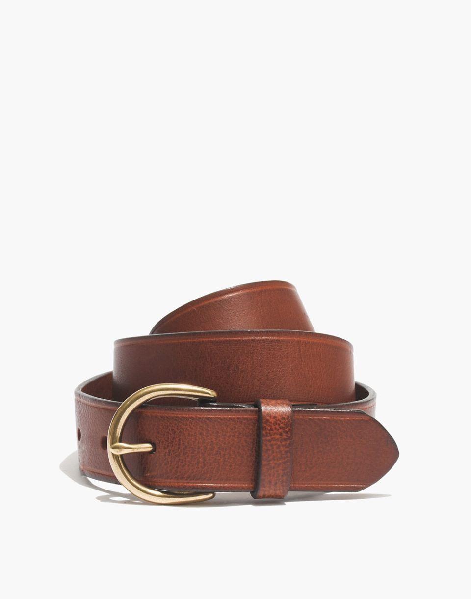 Medium Perfect Leather Belt