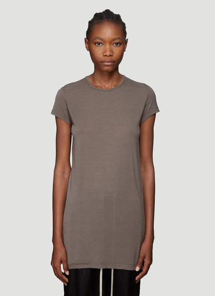 Rick Owens Short Sleeve T-Shirt in Grey size IT - 42
