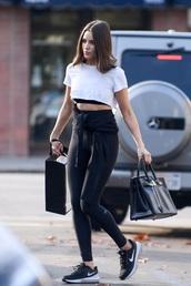 pants,olivia culpo,celebrity,blogger,top,sportswear