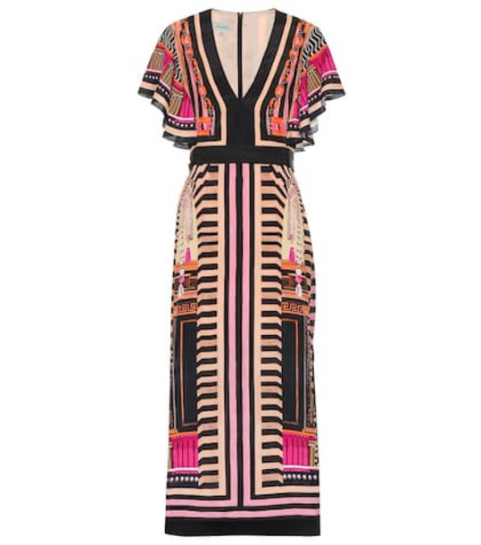 Temperley London Obelisk printed dress