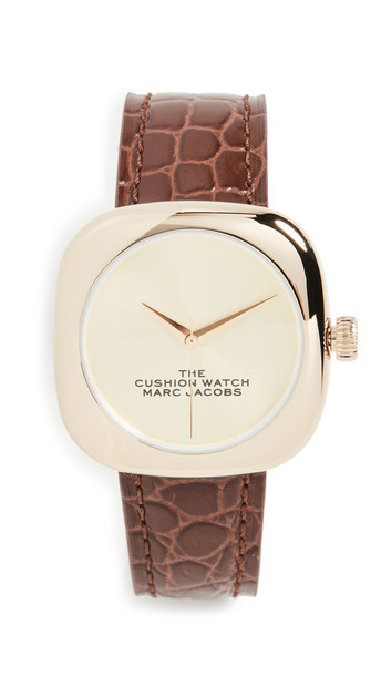 The Marc Jacobs The Cushion Watch 36mm in gold