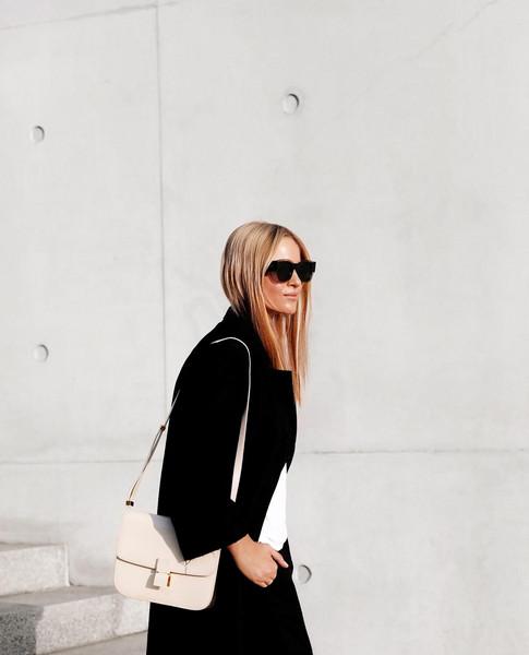 mija blogger pants coat bag shoes