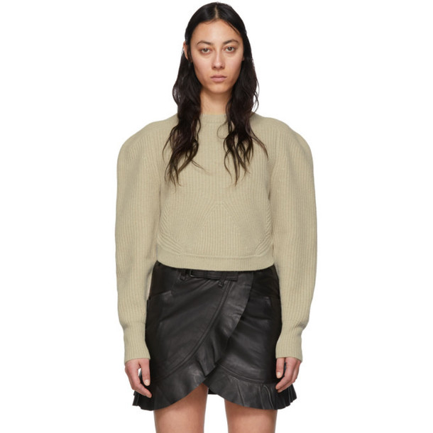 Isabel Marant Beige Jullian Sweater