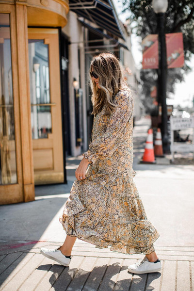 the teacher diva blogger dress shoes sunglasses maxi dress spring outfits free people