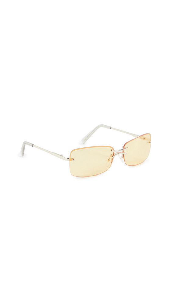 Le Specs That's Hot Sunglasses in gold