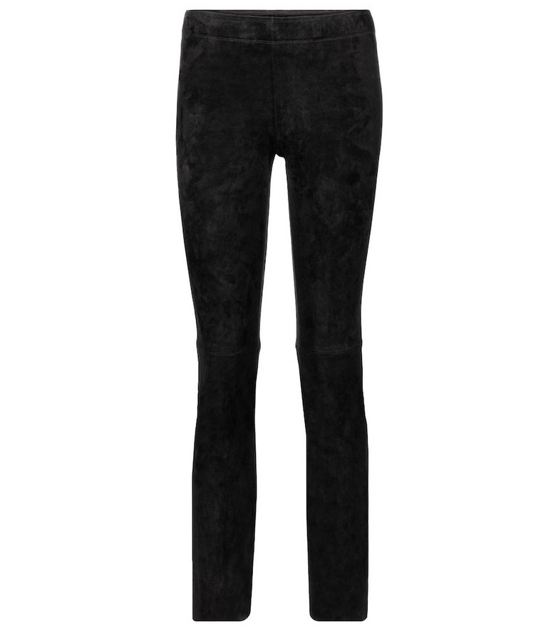 Stouls Jacky suede skinny pants in black