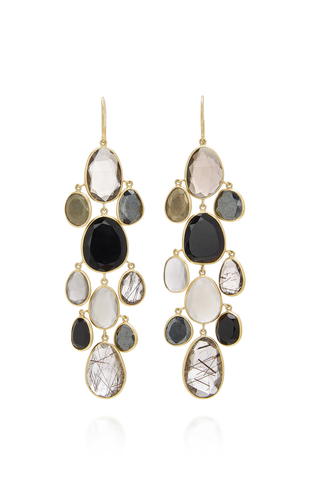 Pippa Small Meteor Shower Tina Earrings in grey