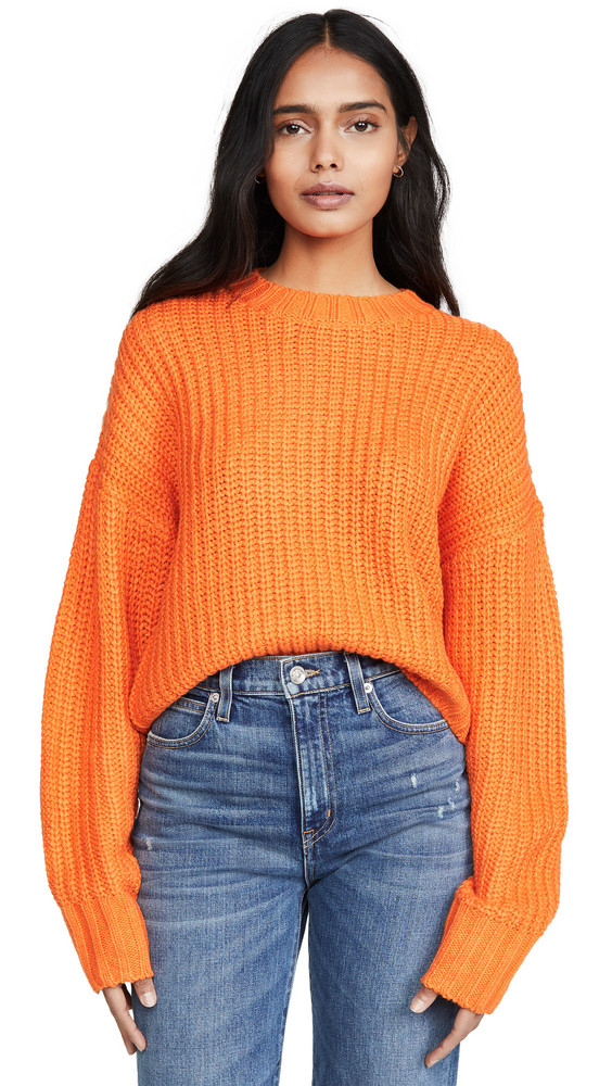 The Fifth Label Author Knit Sweater in orange