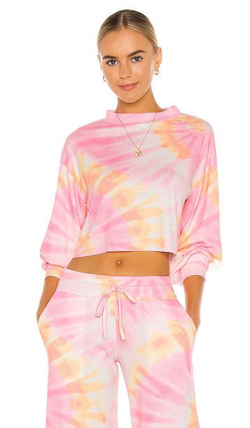 BEACH RIOT Ava Sweatshirt in Pink