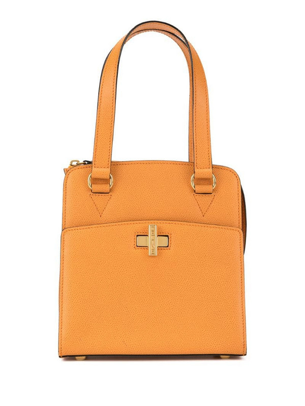 Céline Pre-Owned Logos Hand Tote Bag in orange