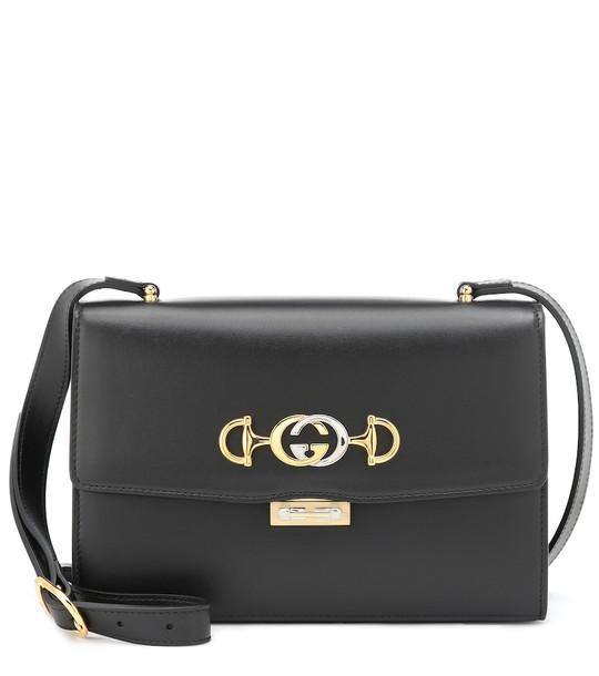 Gucci Zumi Small shoulder bag in black