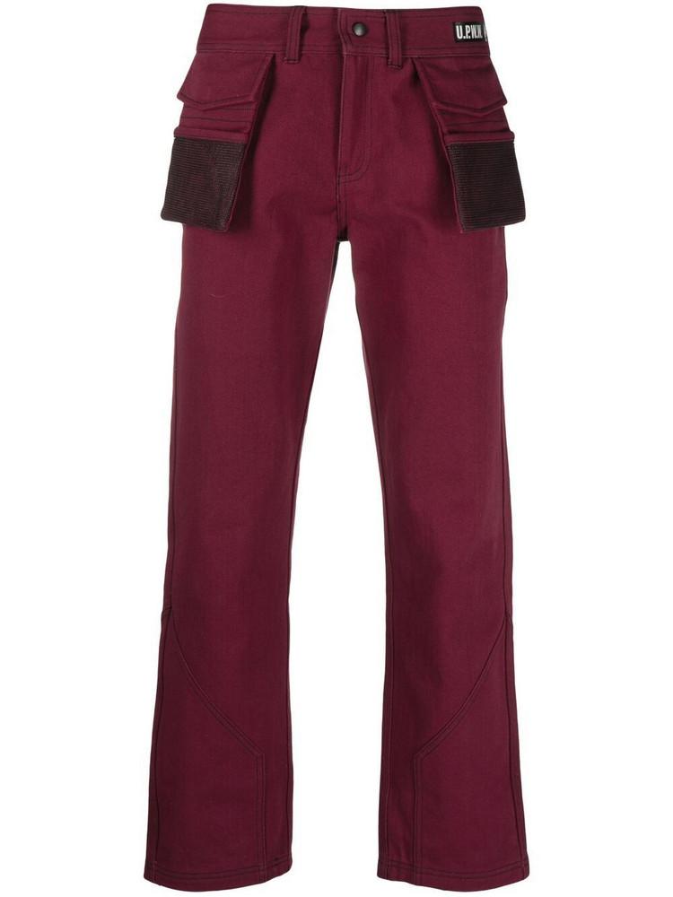 U.P.W.W. U.P.W.W. five-pocket regular trousers - Red