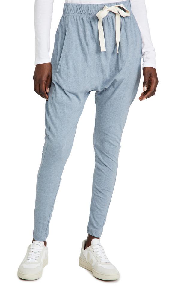 Bassike Slouch Jersey Pants in blue