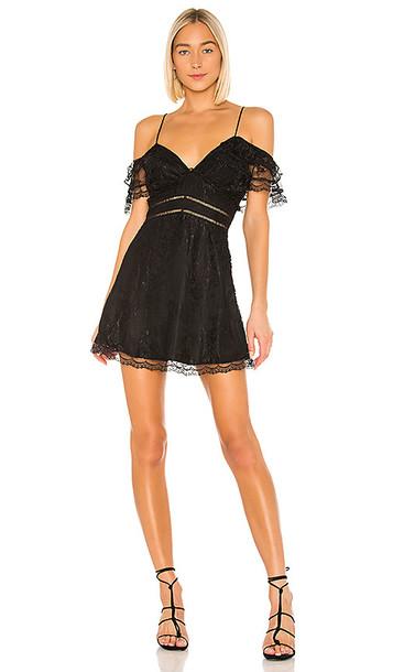 House of Harlow 1960 X REVOLVE Devi Dress in Black