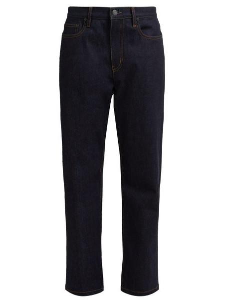 Joseph - Kemp Straight Leg Jeans - Womens - Dark Blue