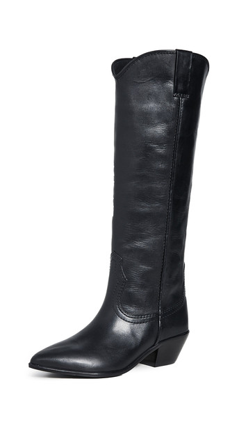 Loeffler Randall Exclusive Dylan Tall Western Boot in black