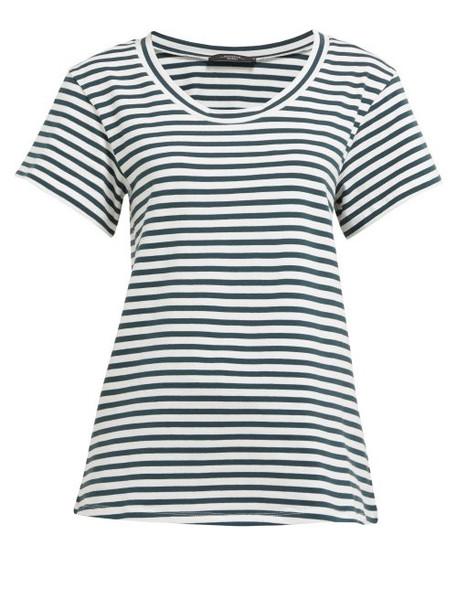 Weekend Max Mara - Barbian T Shirt - Womens - Green White