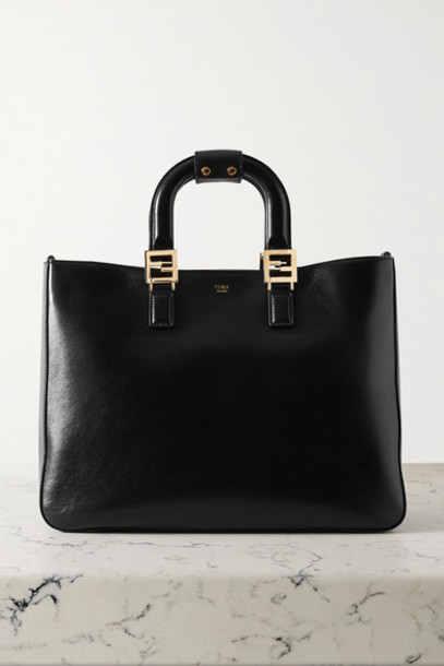 Fendi - Leather Tote - Black