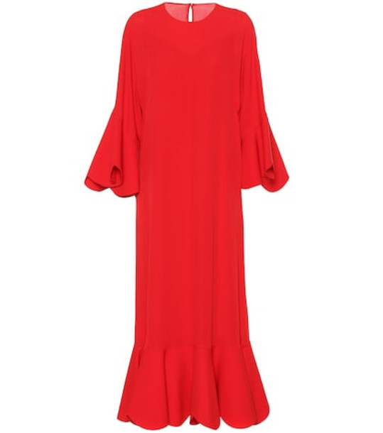 Valentino Silk gown in red