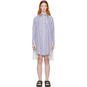 dress,zip,white,blue