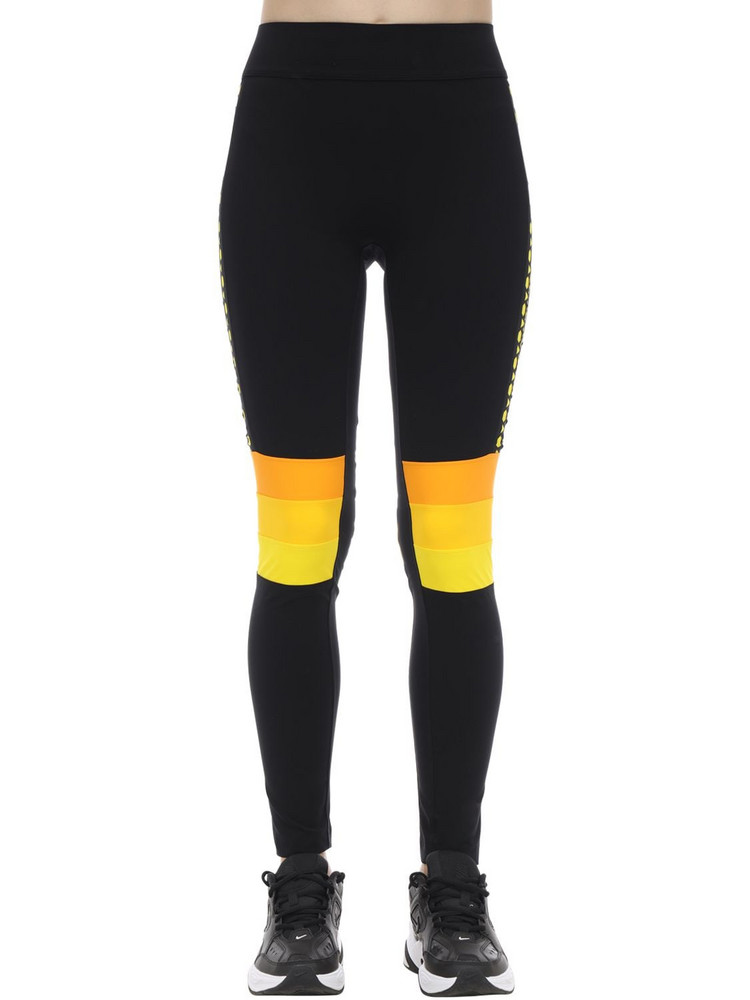 NO KA'OI Powerhouse Leggings in black / yellow