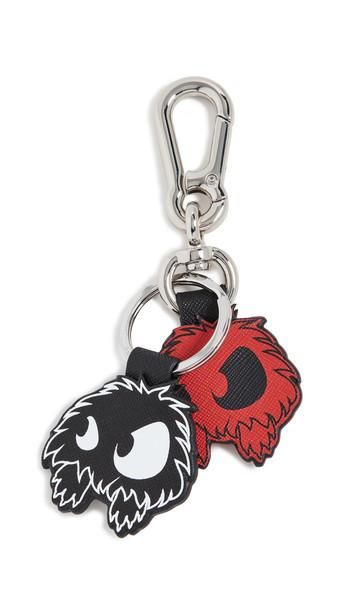 McQ - Alexander McQueen Monster Key Rings in black / red