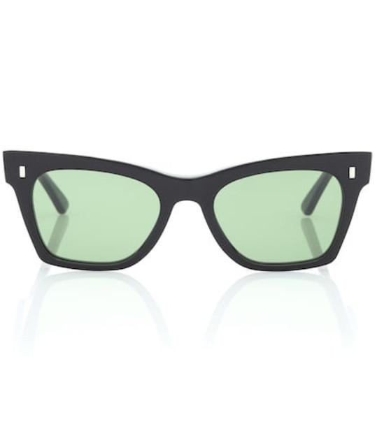 Celine Eyewear Rectangular cat-eye sunglasses in black
