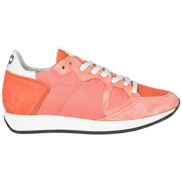 Philippe Model Women's Shoes Suede Trainers Sneakers Monaco