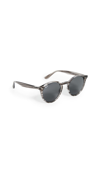 Ray-Ban Highstreet Round Phantos Sunglasses in grey