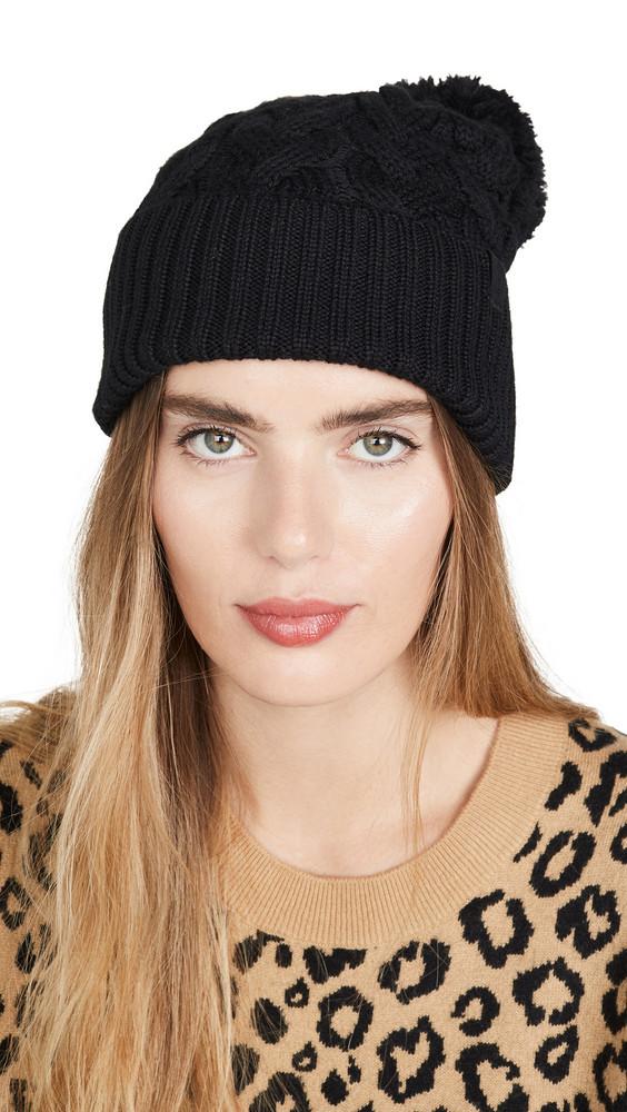 Rag & Bone Aran Hat in black