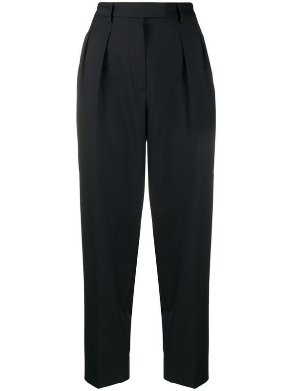A.P.C. straight-leg tailored trousers in blue