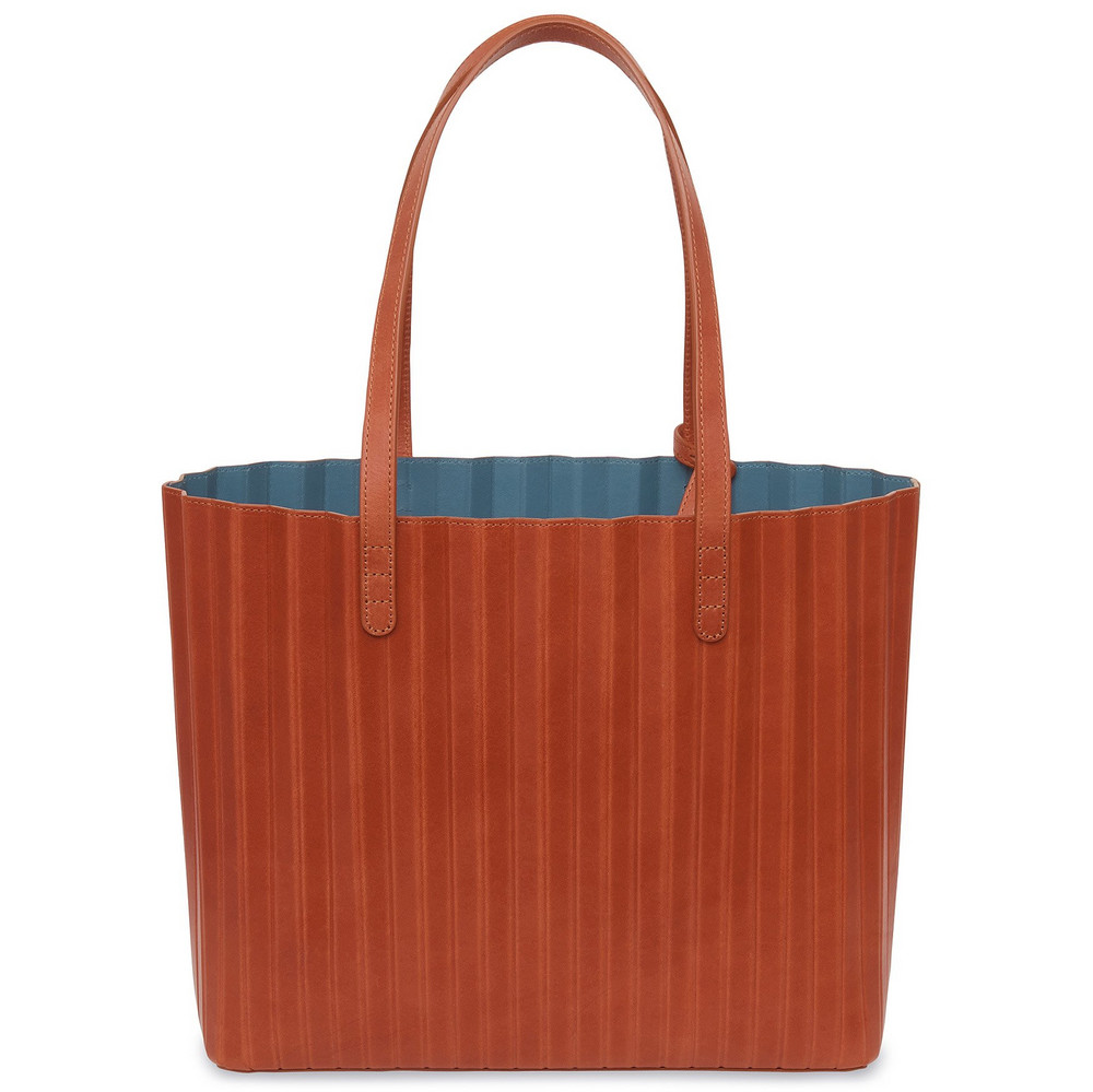 Mansur Gavriel Brandy Pleated Tote - Avion