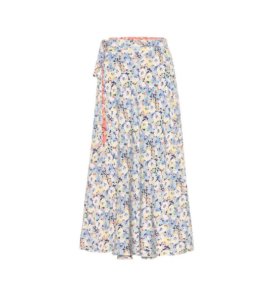 Polo Ralph Lauren Reversible floral midi skirt