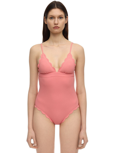 MARYSIA Santa Clara One Piece Swimsuit in pink