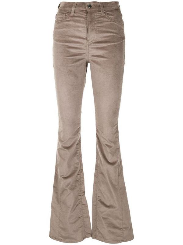 AMIRI boot-cut skinny jeans in brown