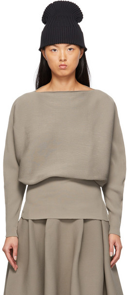 CFCL Taupe Pottery Sweater in beige