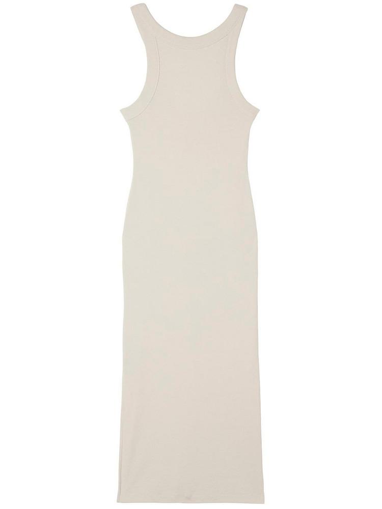 BITE STUDIO Organic Cotton Sleeveless Midi Dress in grey