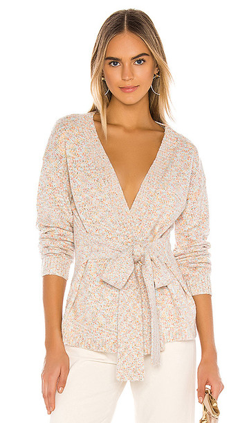 MAJORELLE Alexa Cardigan in Gray