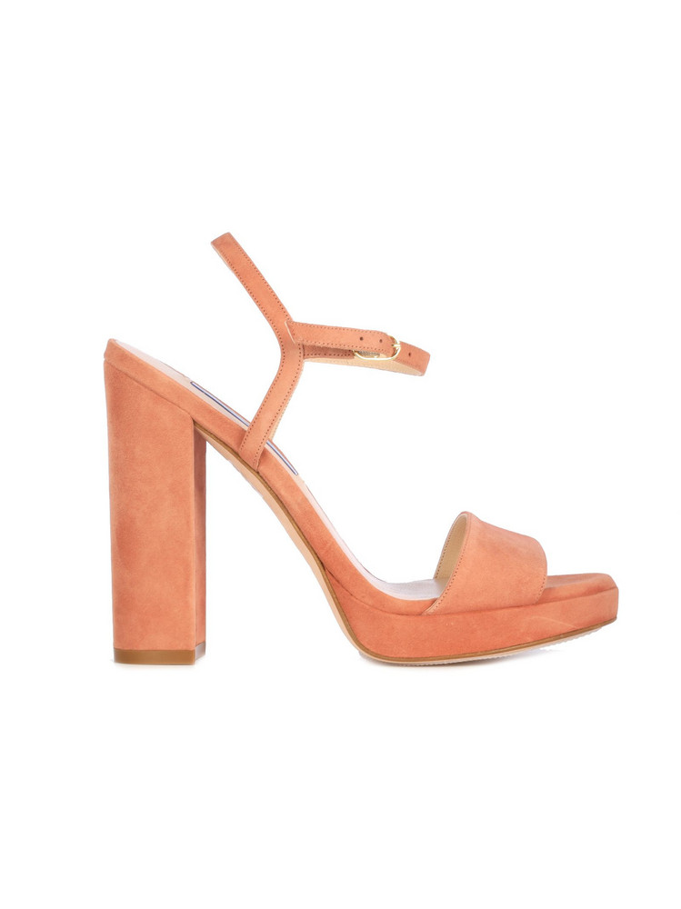Stuart Weitzman Sandal With Band On The Ankle/heel 10 in rose