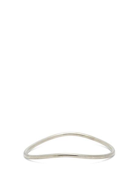 Ann Demeulemeester - Sterling Silver Bracelet - Womens - Silver