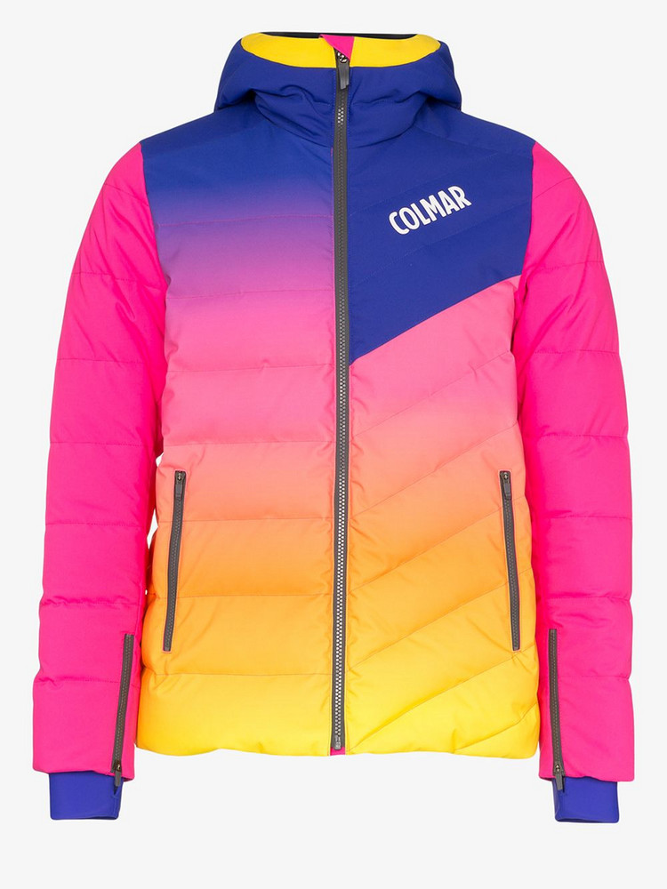 Colmar multicoloured Technologic ski jacket in blue