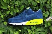shoes,nike,nike air max 1,air max,nike sneakers,blue suede sneakers,blue sneakers,sneakers
