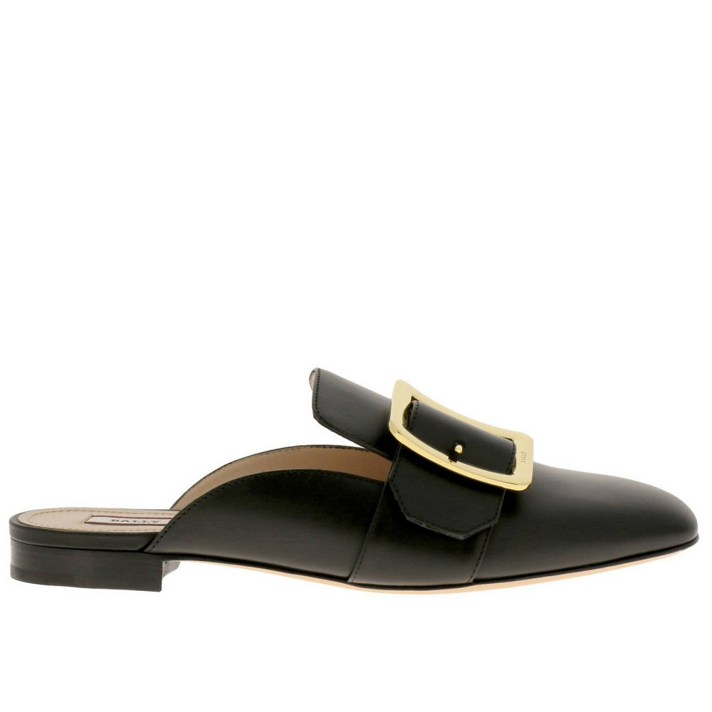 Bally Ballet Flats Shoes Women Bally in black