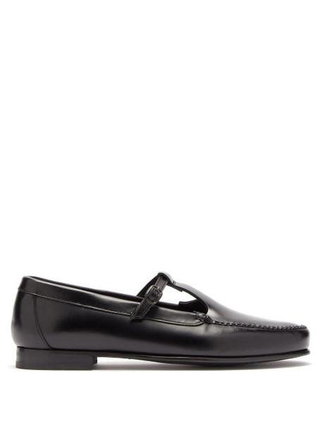 Hereu - Alcala Leather Loafers - Womens - Black