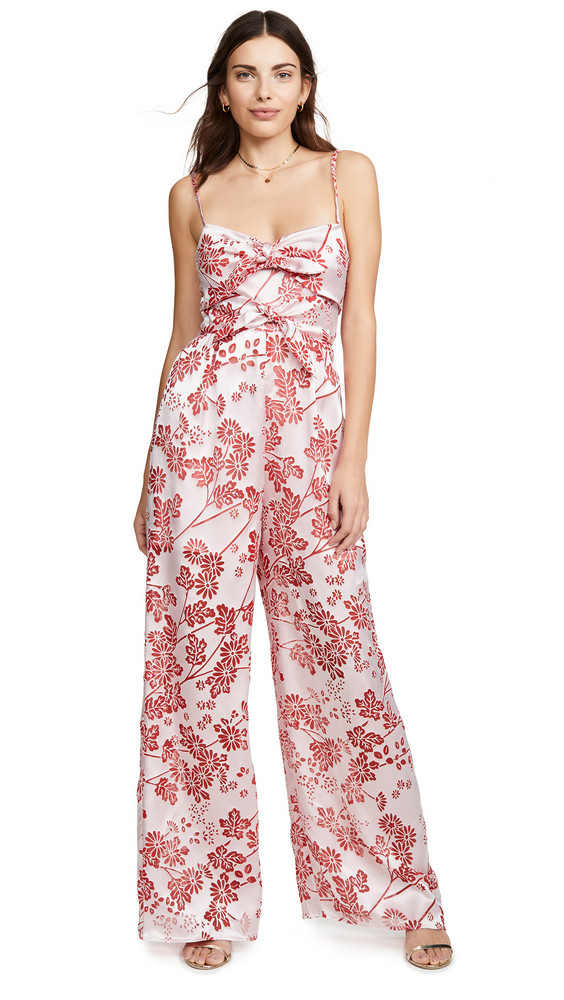 LIKELY Cambell Jumpsuit in red / multi