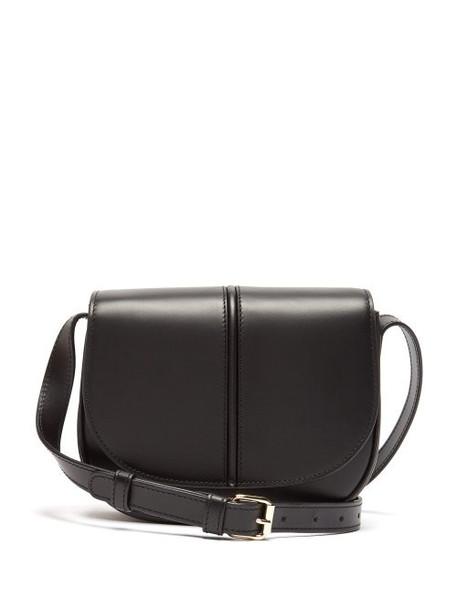 A.P.C. A.p.c. - Betty Leather Satchel Cross Body Bag - Womens - Black